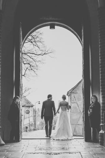 Roskildedomkirke-bryllupsbillede